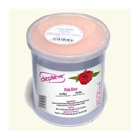 Воск розовый, 800 гр. фото