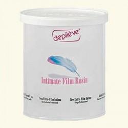 Воск пленочный для интимной депиляции INTIMATE FILM ROSIN в банке