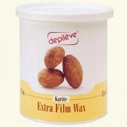 Воск с маслом карите FILM WAX KARITE пленочный в банке