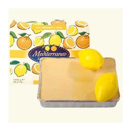 Горячий воск лимон, 1кг фото