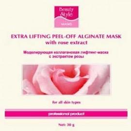 Лифтинг-маска альгинатная Моделирующая с экстрактом розы