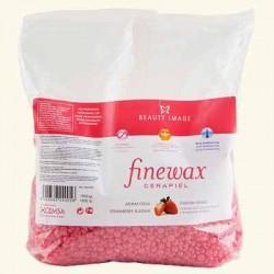 Пленочный воск в гранулах Finewax с ароматом клубники