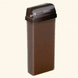 Воск горький шоколад DeLux маслом какао и сладкого миндаля в картридже