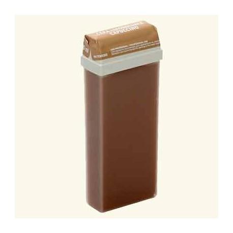 """Тёплый воск в кассетах """"DeLuxe"""" шоколадный капучино фото"""