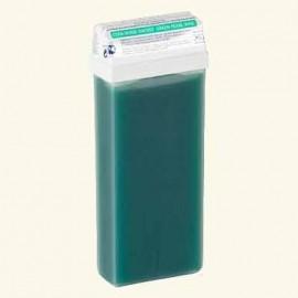 """Тёплый воск в кассетах """"Standart"""" зелёный перламутровый фото"""