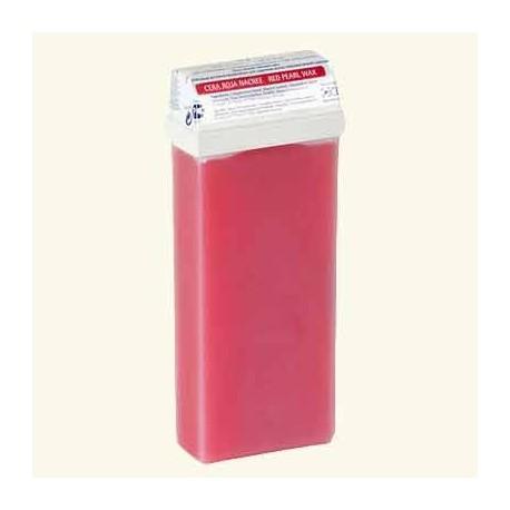 """Тёплый воск в кассетах """"Standart"""" красный перламутровый фото"""