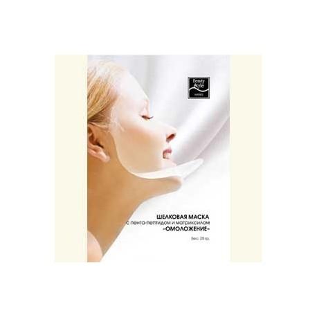 Шелковая маска пента-пептидом и матриксилом (10шт) фото
