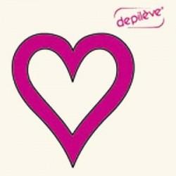 Шаблон для интимной депиляции (сердечко)
