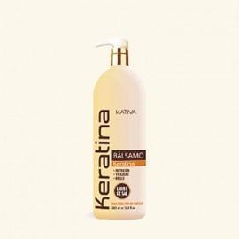 Кератиновый укрепляющий бальзам-кондиционер для всех типов волос фото