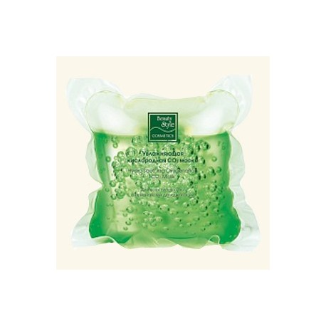 Увлажняющая кислородная СО2 маска «Дыхание свежести» фото
