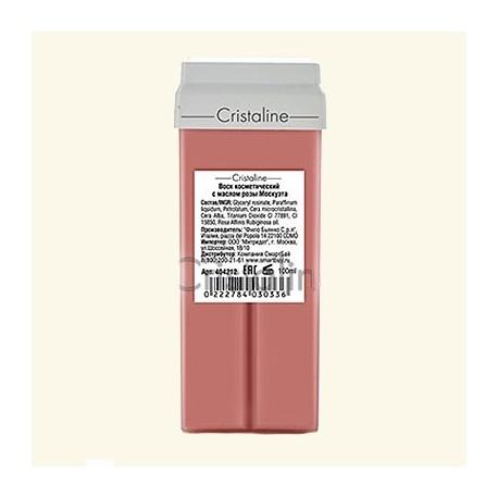 Воск с маслом розы москуэта в картридже COLOR фото