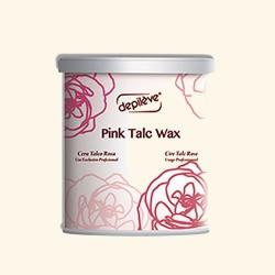 Воск розовый кремообразный с тальком