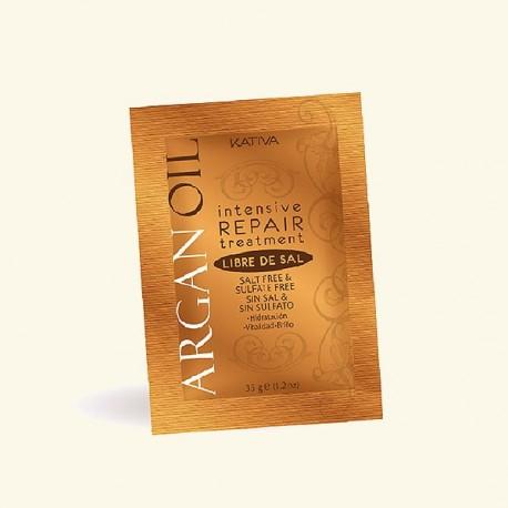 Маска для волос с маслом Арганы интенсивно восстанавливающая увлажняющая ARGAN OIL фото