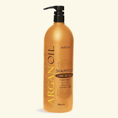 Увлажняющий шампунь с маслом Арганы ARGAN OIL фото