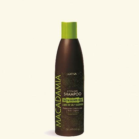 Увлажняющий шампунь для нормальных и поврежденных волос MACADAMIA фото