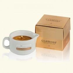 Масло-Аромасвеча с ароматом ванили для ухода за кожей тела Glamour