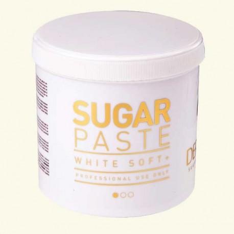 Сахарная паста ультрамягкая DERMAEPIL WHITE SOFT PLUS 1000 г фото
