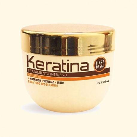 Маска для поврежденных и хрупких волос кератиновая интенсивно восстанавливающая KERATINA Kativa 250 мл фото