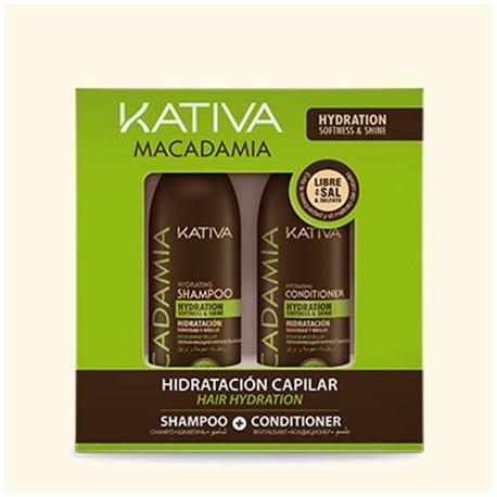 MACADAMIA Набор интенсивно увлажняющий кондиционер + шампунь для нормальных и поврежденных волос фото