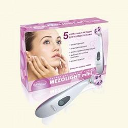 Массажер-миостимулятор с функцией мезопорации для лица, шеи, декольте Gezatone MezoLight mini m8800