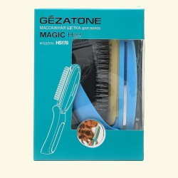 Массажная расческа с магнитной функцией Magic Hair HS178 фото