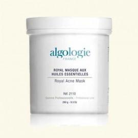 Маска анти-акне Королевская с белой и зеленой глиной и водорослями для жирной кожи