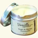 Массажное масло ванильное «Восхитительное» в виде свечи